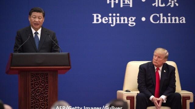 Xi Jinping si Donald Trump - AFP/Getty