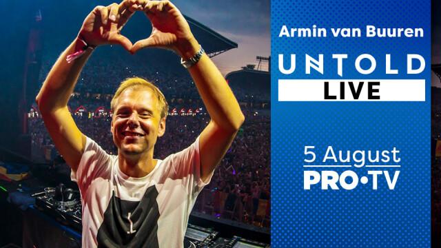 Armin van Buuren, UNTOLD 2018