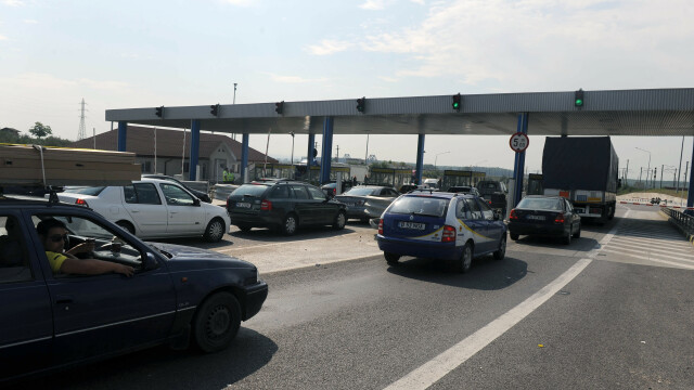 Infotrafic: Circulaţie intensă pe Autostrada Soarelui. Au fost mai multe tamponări