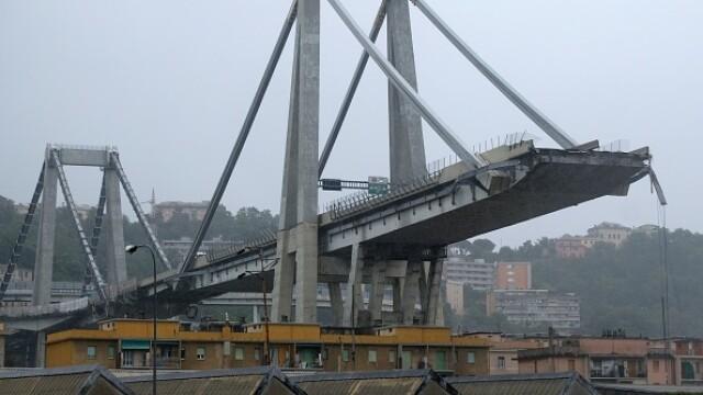 Român, printre persoanele decedate după prăbușirea viaductului din Italia