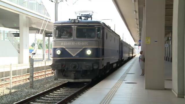 Traficul feroviar reluat la Videle după ce vagonul din care s-a scurs conținut inflamabil a fost retras