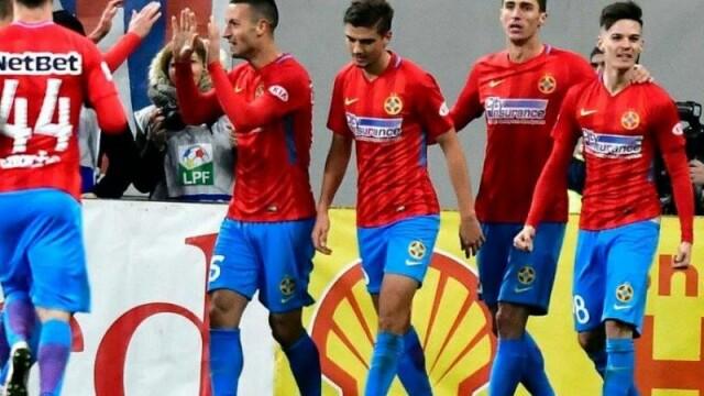 FCSB s-a calificat dramatic în play-off-ul Europa League, după 2-1 cu Hajduk Split