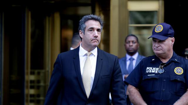 Michael Cohen, fostul avocat al lui Trump, a pledat vinovat. E acuzat că a mințit Congresul
