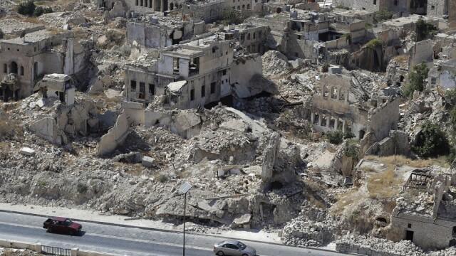 ruine în Siria