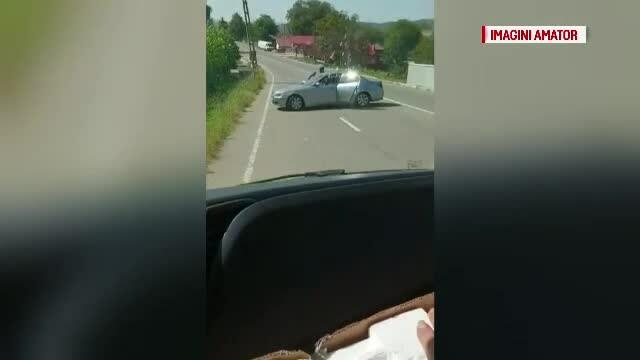 duba blocata in trafic