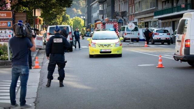 politist impuscat in Belgia