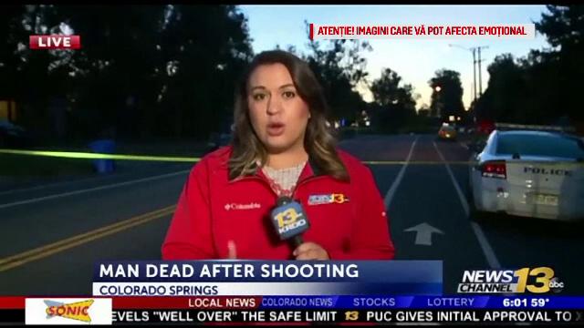 Reacția unei jurnaliste când vede că un șofer vrea să o calce cu mașina, în timpul unui live