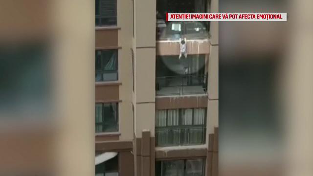 A scăpat cu viață, după ce a căzut de la etajul 6. Cum s-a salvat la numai 3 ani