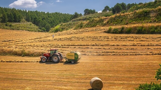 Tractor, agricultura