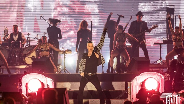 Ultima zi de Untold. Show de neuitat cu Robbie Williams