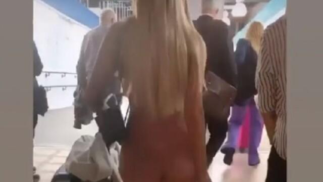 O vedetă și-a șocat fanii cu ținuta purtată în gară - 9