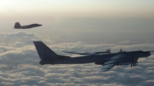 Avioane militare americane şi canadiene au interceptat două bombardiere ruseşti - Imaginea 2