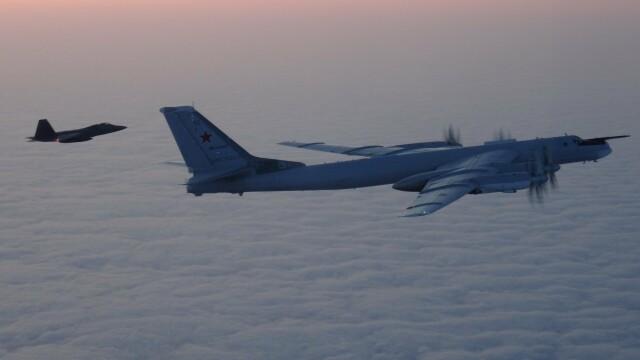 Avioane militare americane şi canadiene au interceptat două bombardiere ruseşti - Imaginea 3