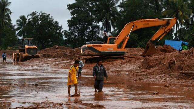 Alunecări de teren în Myanmar. Operațiune de amploare pentru căutarea victimelor - 8