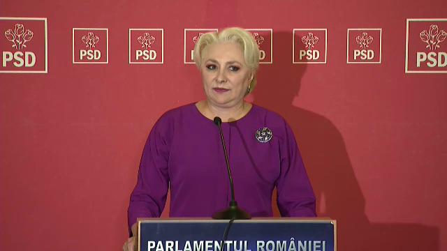 Dăncilă, după CEx PSD: