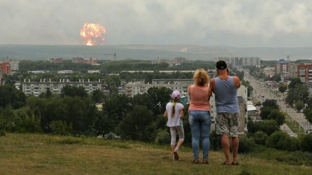 Adevărul despre familia din Rusia care se uită la explozia nucleară
