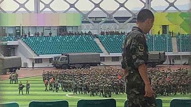 Militari la Hong Kong