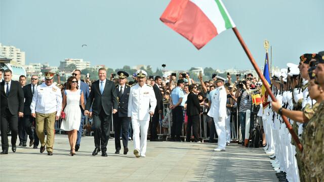 Klaus și Carmen Iohannis au participat la evenimentele organizate de Ziua Marinei