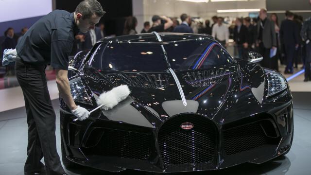Cea mai scumpă mașină din istorie. Noul model Bugatti, cumpărat cu 16.800.000 €. FOTO - Imaginea 9
