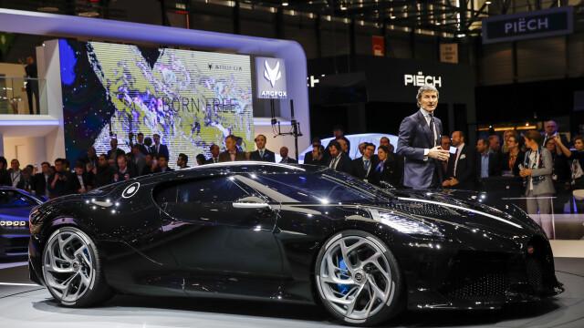 Cea mai scumpă mașină din istorie. Noul model Bugatti, cumpărat cu 16.800.000 €. FOTO - Imaginea 10