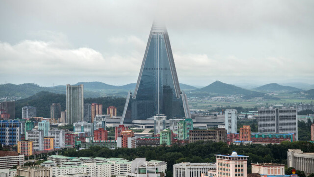Cea mai inalta cladire din lume se afla in Coreea de Nord - 1
