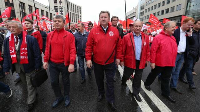 """Proteste la Moscova. Comuniștii și liberalii cer """"alegeri cinstite"""". FOTO - Imaginea 7"""
