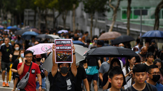 Mii de profesori, în stradă la Hong Kong. Armata chineză poate interveni oricând - Imaginea 3