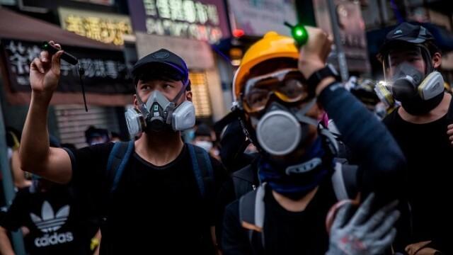Mii de profesori, în stradă la Hong Kong. Armata chineză poate interveni oricând - Imaginea 6