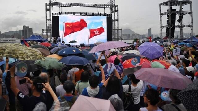 Mii de profesori, în stradă la Hong Kong. Armata chineză poate interveni oricând - Imaginea 10