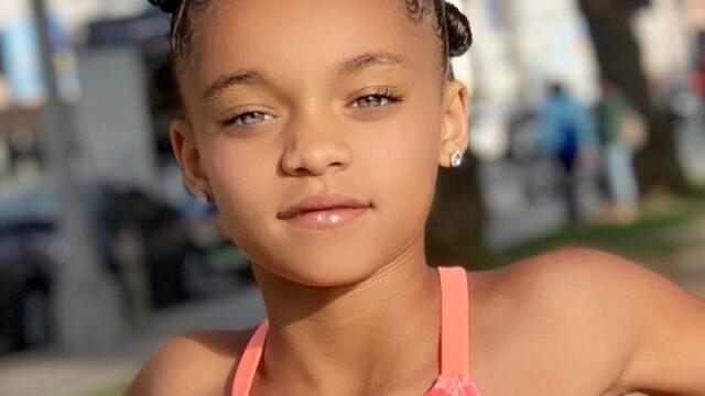 Cum s-a schimbat viața fetiței care seamănă cu Rihanna