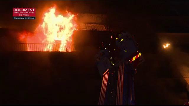 incendiu Paris