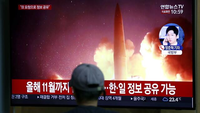 Coreea de Nord a lansat 2 rachete balistice în Marea Japoniei