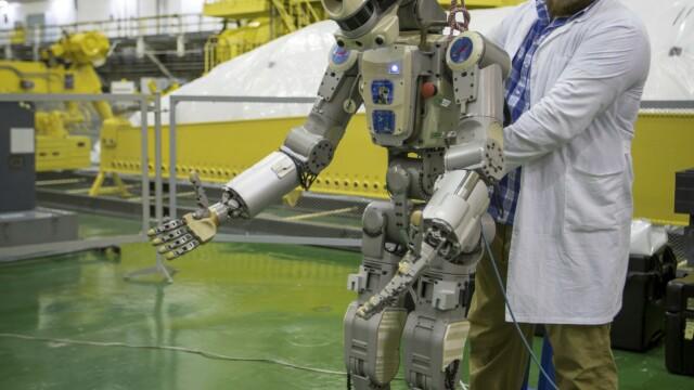 Rusia a trimis în spațiu un robot umanoid. Ce s-a întâmplat însă când a ajuns pe ISS - Imaginea 2