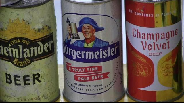 Cutii de bere foarte vechi, din ediţii limitate, vândute cu mii de dolari