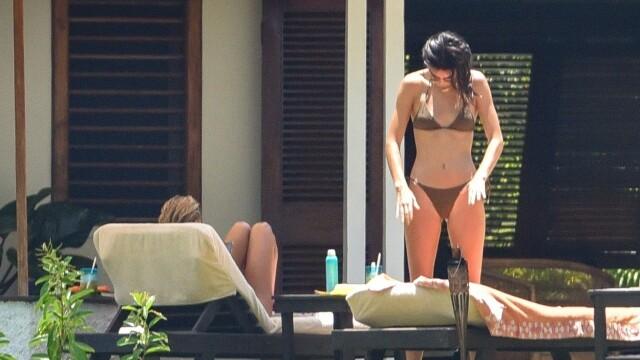 Kendall Jenner, apariție de senzație în vacanța din Bahamas. GALERIE FOTO - Imaginea 4