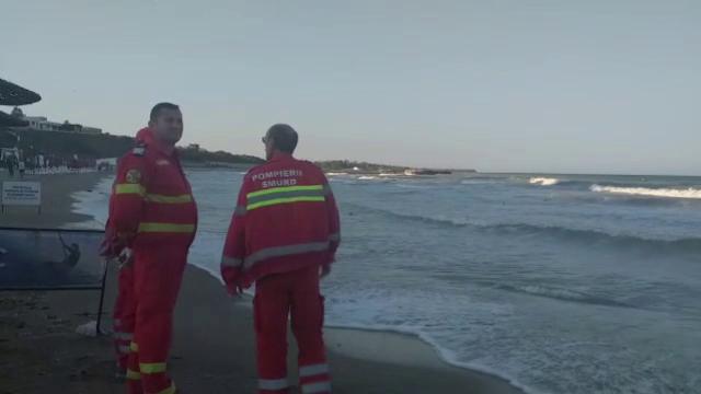 Un bărbat a dispărut în mare la Olimp