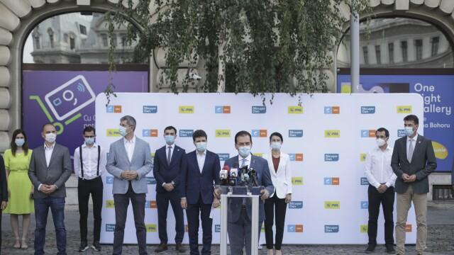 PNL, USR şi PLUS, candidaţi comuni la alegerile locale din București. Orban: Dreapta s-a unit / Barna: E o zi istorică - Imaginea 2
