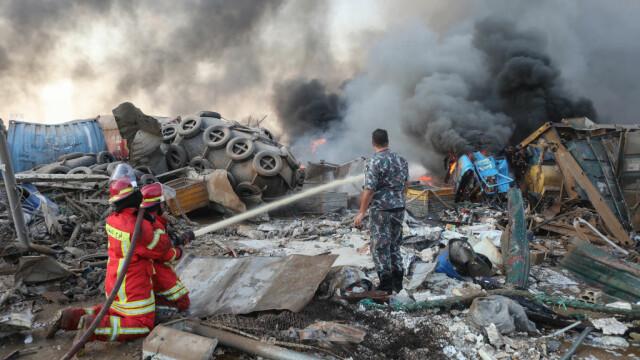 Explozii devastatoare în portul Beirut. Cel puțin 50 de morți și 3.000 de răniți în urma deflagrației - Imaginea 3
