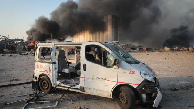 Explozii devastatoare în portul Beirut. Cel puțin 50 de morți și 3.000 de răniți în urma deflagrației - Imaginea 4