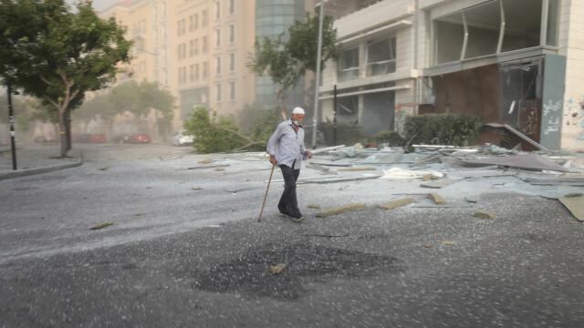 Explozii devastatoare în portul Beirut. Cel puțin 50 de morți și 3.000 de răniți în urma deflagrației - Imaginea 6