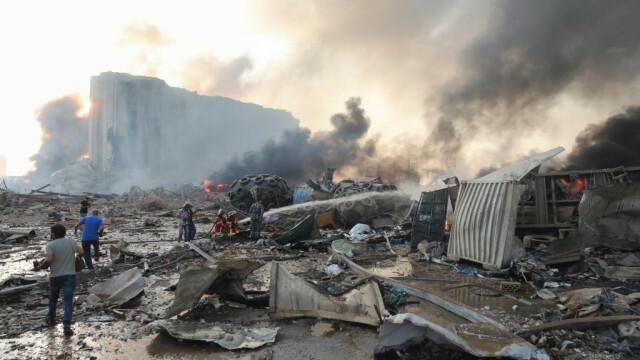 Explozii devastatoare în portul Beirut. Cel puțin 50 de morți și 3.000 de răniți în urma deflagrației - Imaginea 8