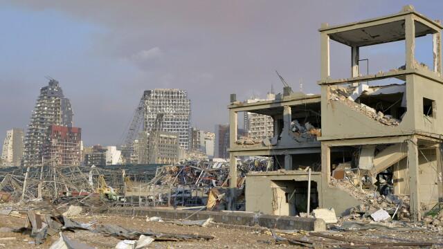 Imaginile dezastrului din Beirut. Stare de urgență în capitala Libanului după explozie. GALERIE FOTO - Imaginea 6