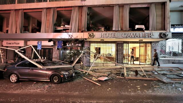 Imaginile dezastrului din Beirut. Stare de urgență în capitala Libanului după explozie. GALERIE FOTO - Imaginea 17