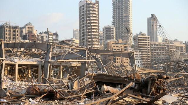 Imaginile dezastrului din Beirut. Stare de urgență în capitala Libanului după explozie. GALERIE FOTO - Imaginea 11