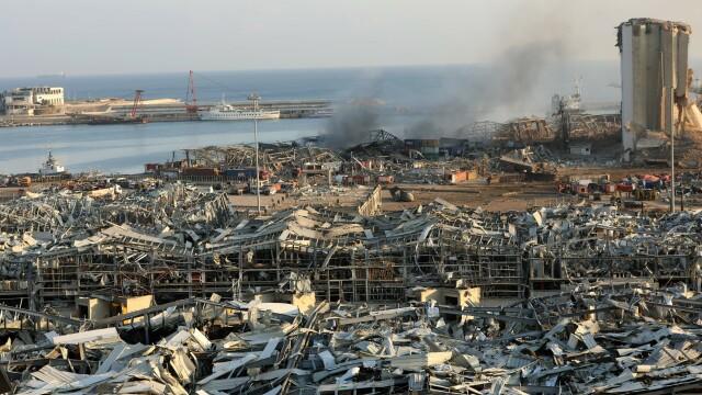 Imaginile dezastrului din Beirut. Stare de urgență în capitala Libanului după explozie. GALERIE FOTO - Imaginea 26