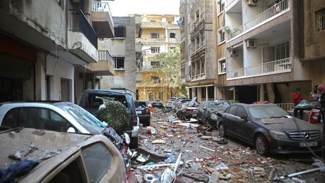 Imaginile dezastrului din Beirut. Stare de urgență în capitala Libanului după explozie. GALERIE FOTO - Imaginea 25