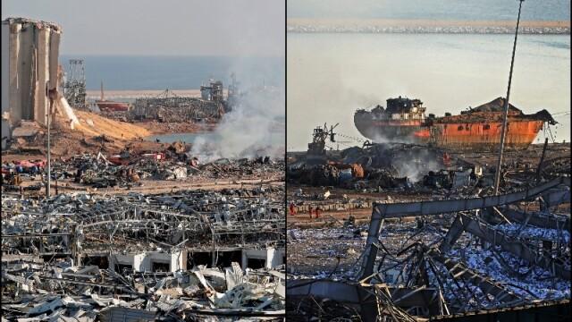 """Sarcină titanică pentru salvatorii care caută supraviețuitori în Beirut. Rănit: """"Nu pot uita ce am văzut"""" - Imaginea 5"""