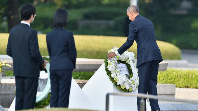 75 de ani de la atacul nuclear de la Hiroshima. Ceremonii de comemorare a victimelor - Imaginea 3