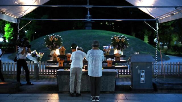 75 de ani de la atacul nuclear de la Hiroshima. Ceremonii de comemorare a victimelor - Imaginea 9