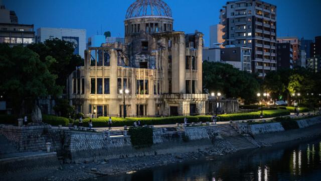 75 de ani de la atacul nuclear de la Hiroshima. Ceremonii de comemorare a victimelor - Imaginea 10
